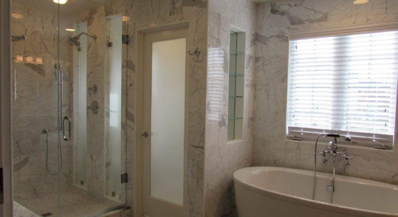 A New Market Master Bathroom