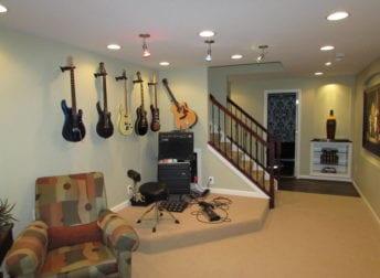 New Market basement remodel