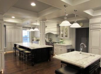 Open floor kitchen design
