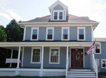 Major renovation in historic home