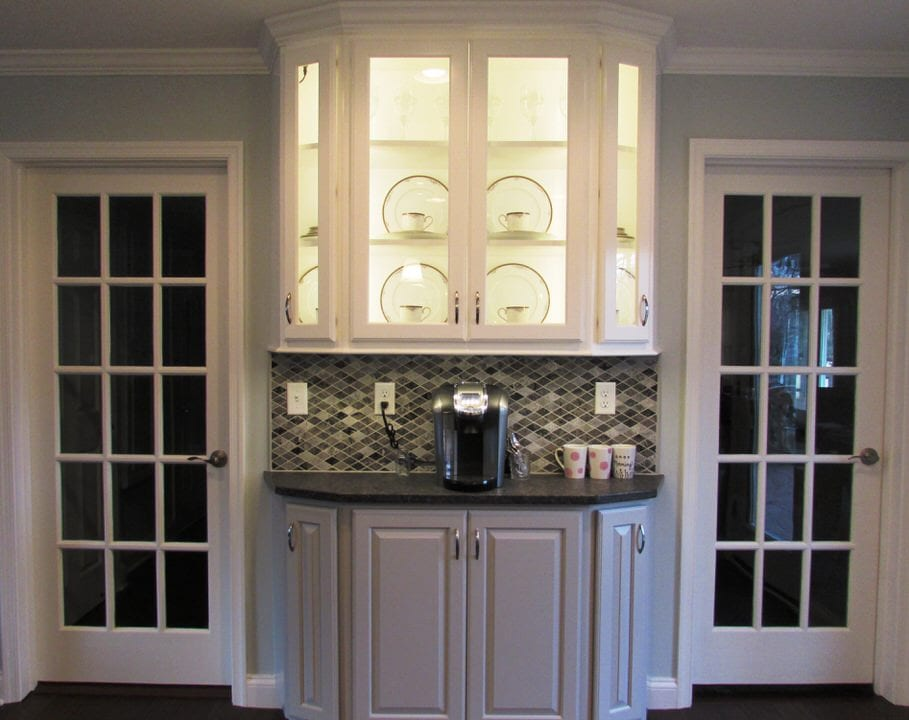 Lovely Frederick kitchen remodel with a beverage station ... on Modern:gijub4Bif1S= Kitchen Remodel  id=58843