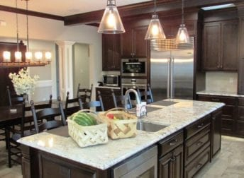 Beautiful large scale kitchen renovation