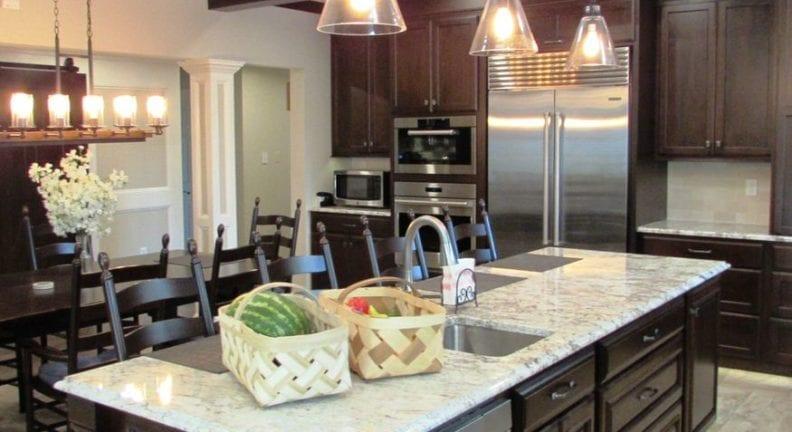 Beautiful large scale kitchen renovation