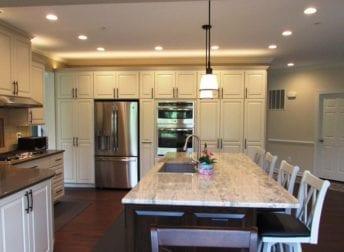 Urbana spacious kitchen remodel