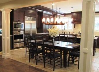 Beautiful large kitchen renovation