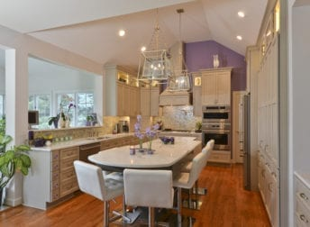 Kitchen renovation in Potomac