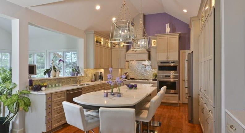Kitchen renovation in Potomac