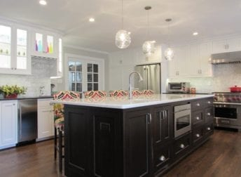 Brighten your kitchen with lighting and color