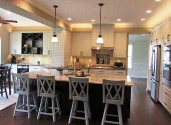 Spacious kitchen remodel in Urbana