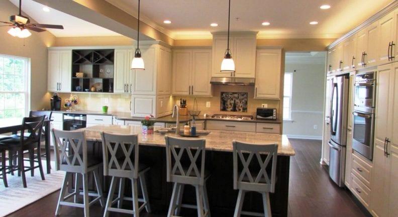 Spacious kitchen remodel in Urbana