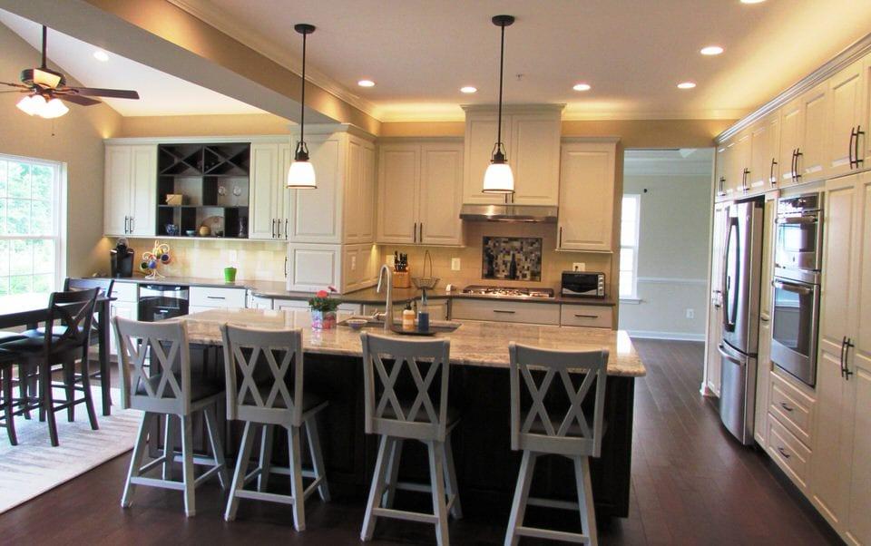 Gorgeous Kitchen Renovation In Potomac Maryland: Spacious Kitchen Remodel In Urbana