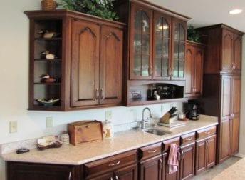 Jefferson kitchen remodel with dog niche