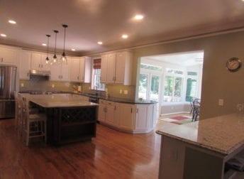 Large kitchen remodel in Frederick