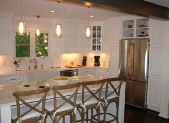Frederick kitchen with white cabinetry