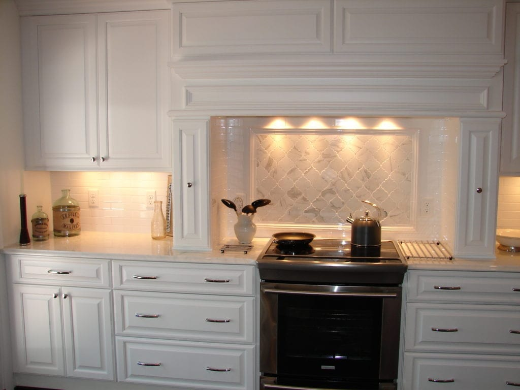 Frederick Kitchen Remodel With White Cabinetry And Dark