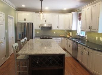 Large kitchen remodel in Frederick
