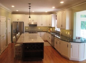 Kitchen remodel in Frederick