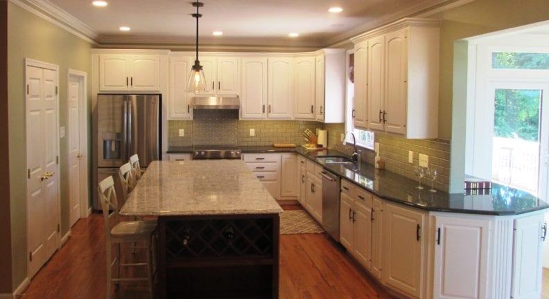 Kitchen remodel in Frederick