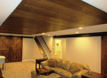 Ijamsville basement remodel