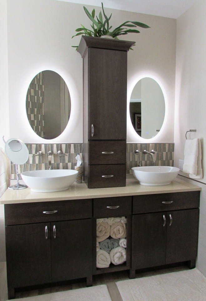 A Relaxing Master Bathroom In Wormans Mill Frederick