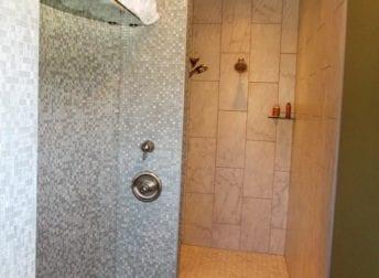 Myersville bathroom unique shower