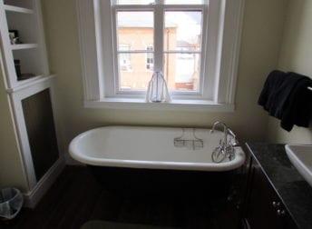 Frederick bathroom renovation in historic home