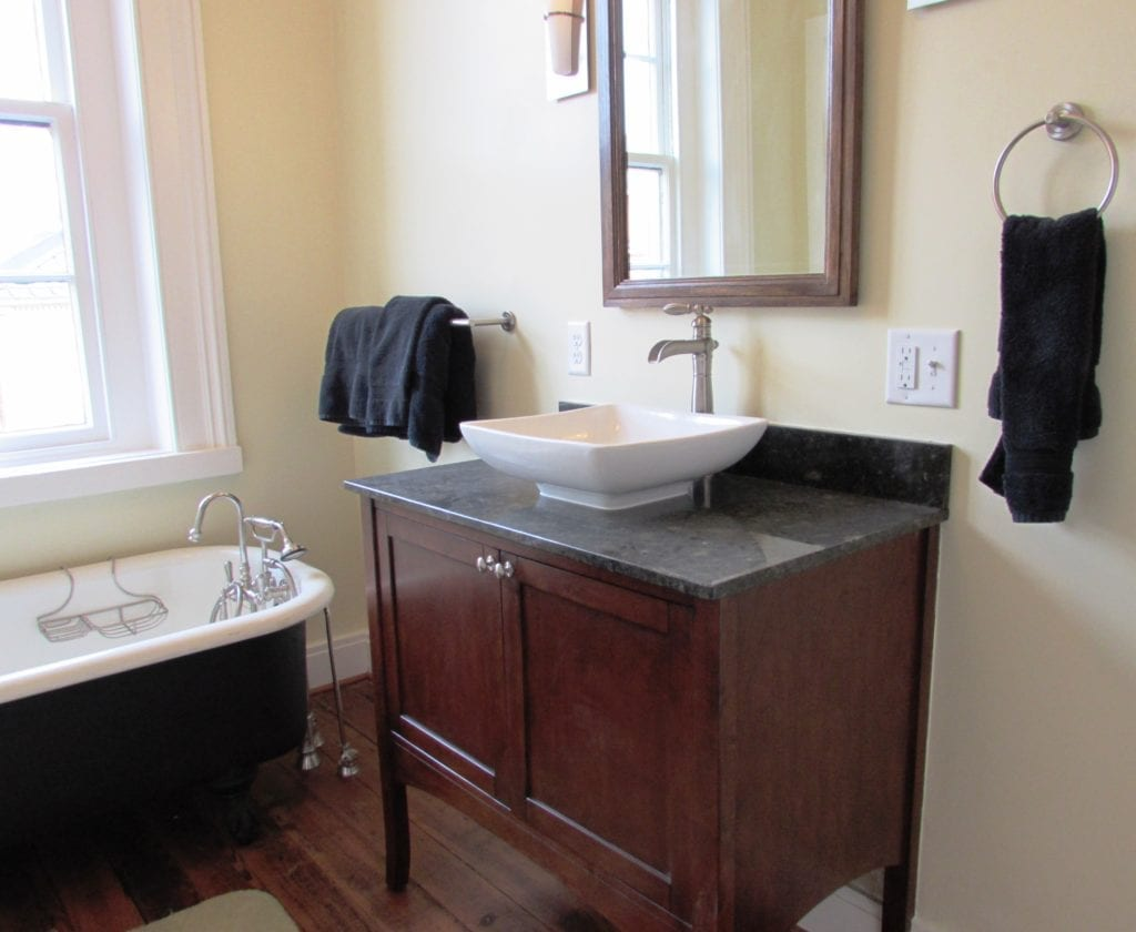 Downtown Frederick Bathroom Renovation In Historic Home