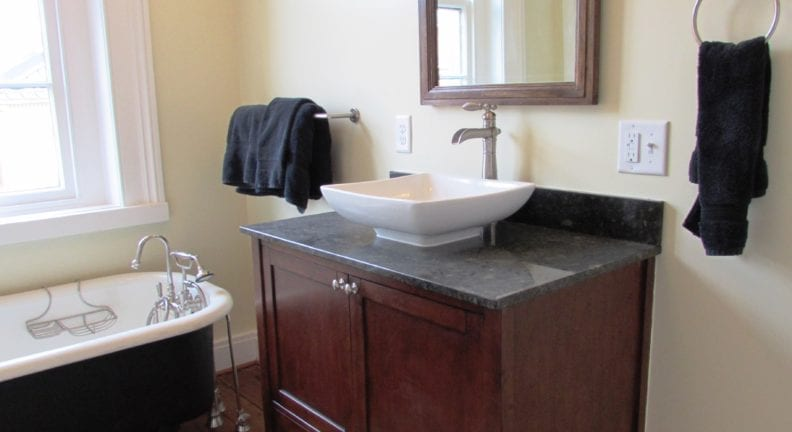 Downtown Frederick bathroom renovation