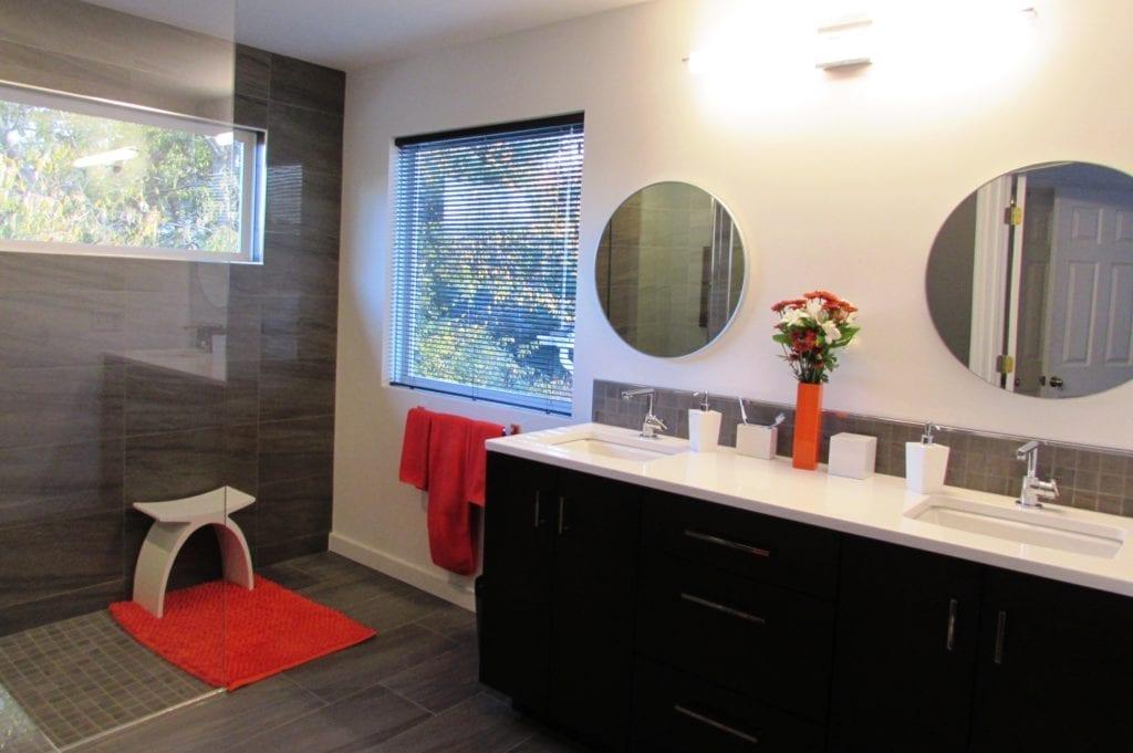 Modern Bathroom Remodel In Frederick Talon Construction