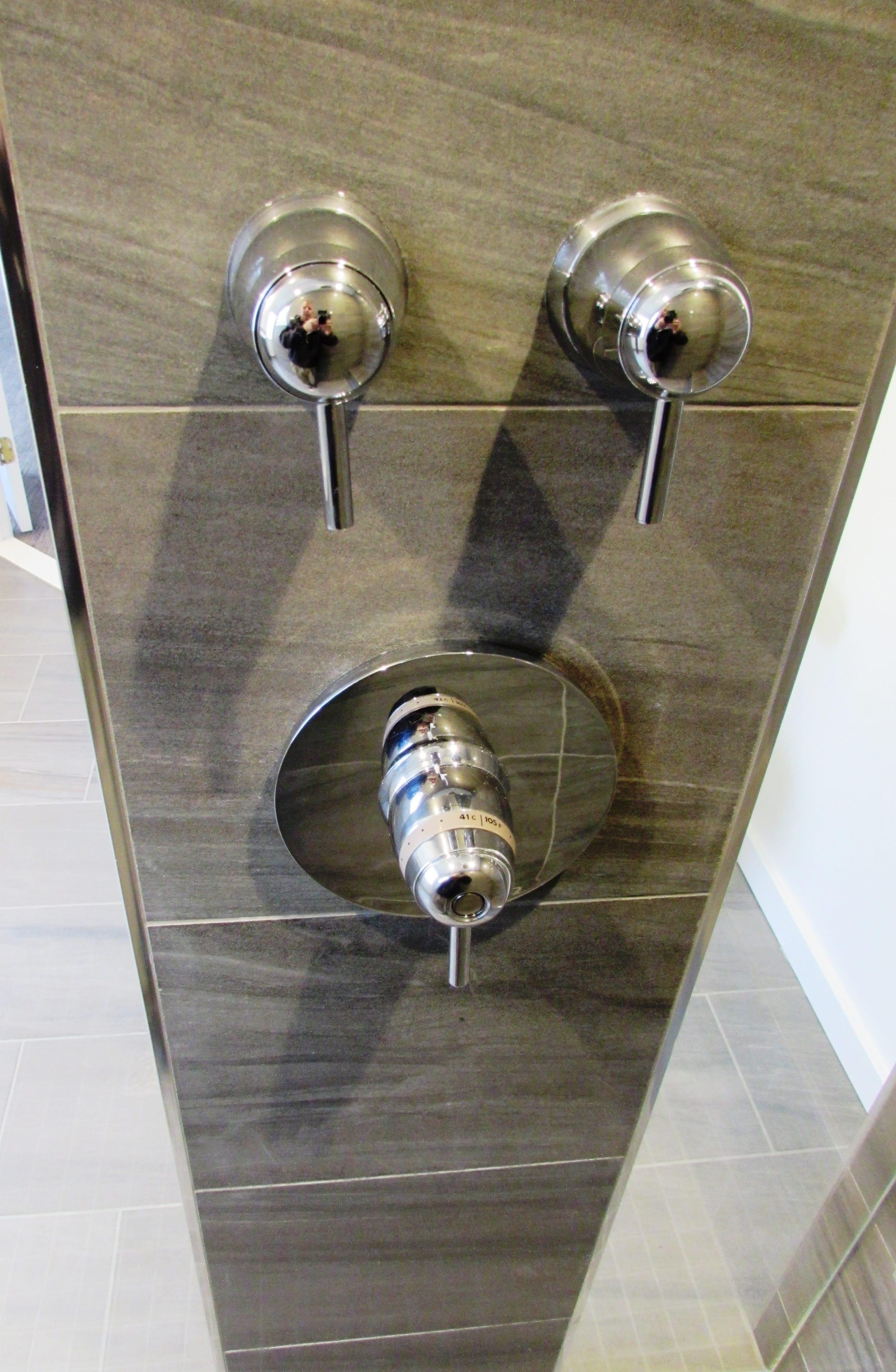 Modern bathroom remodel in Frederick - Talon Construction