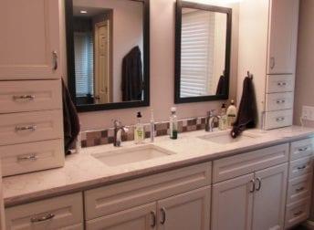 Master bathroom in Myersville MD