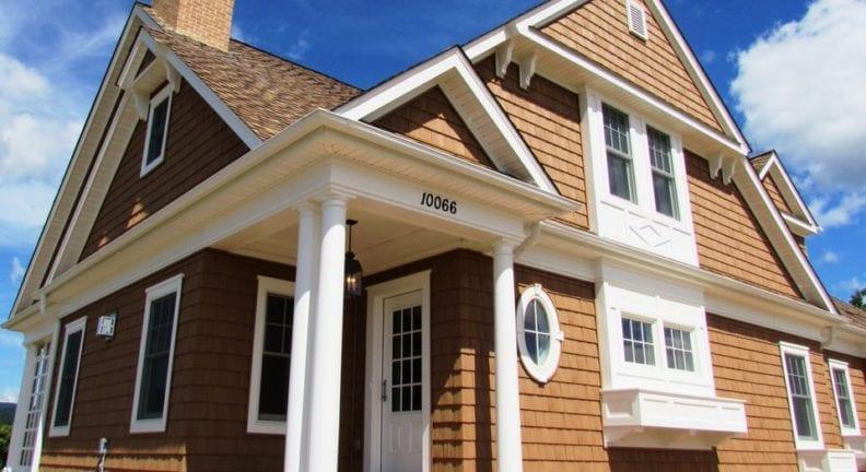 A new custom home in Glenview Estates