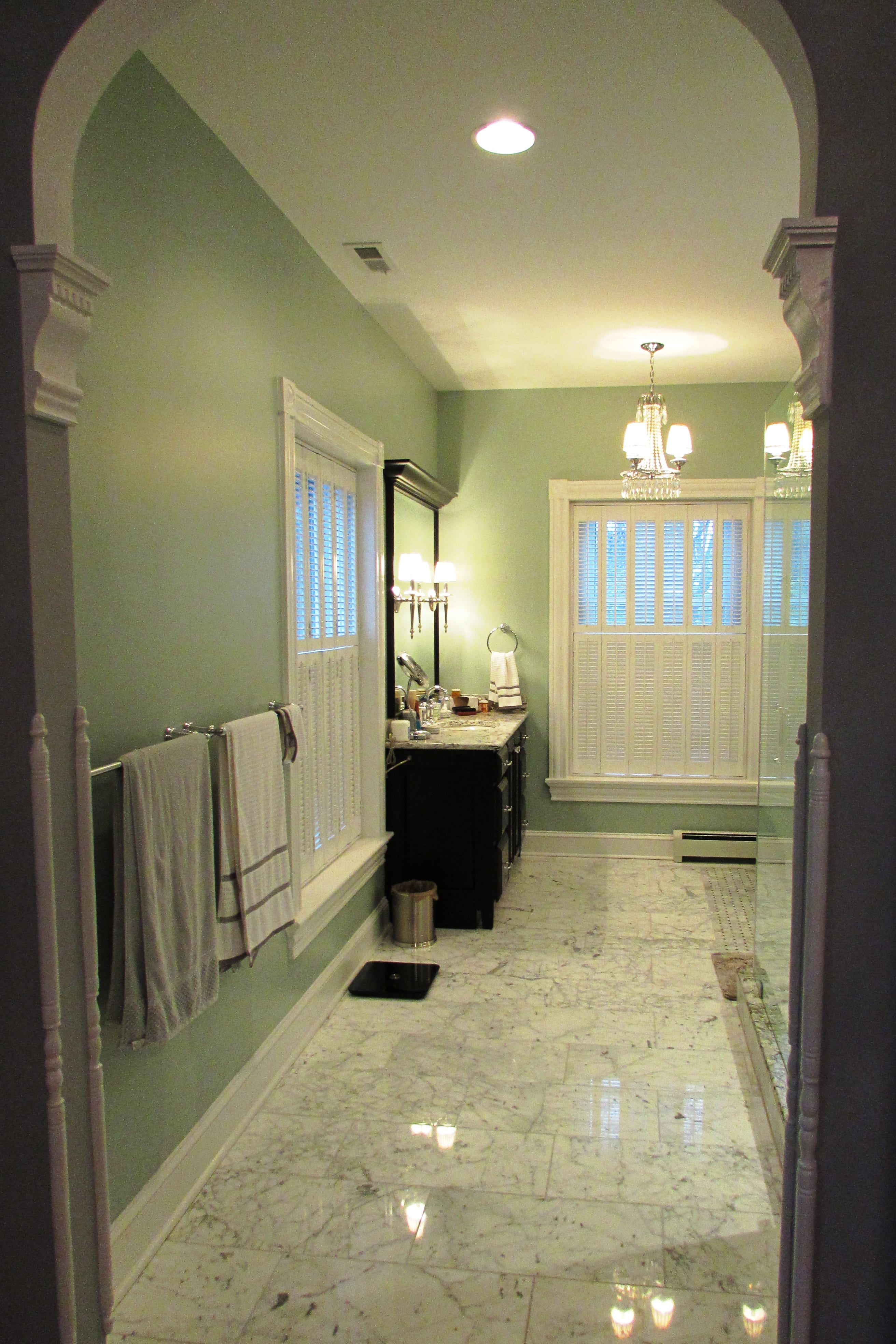Downtown Frederick master bathroom remodel - Talon ...