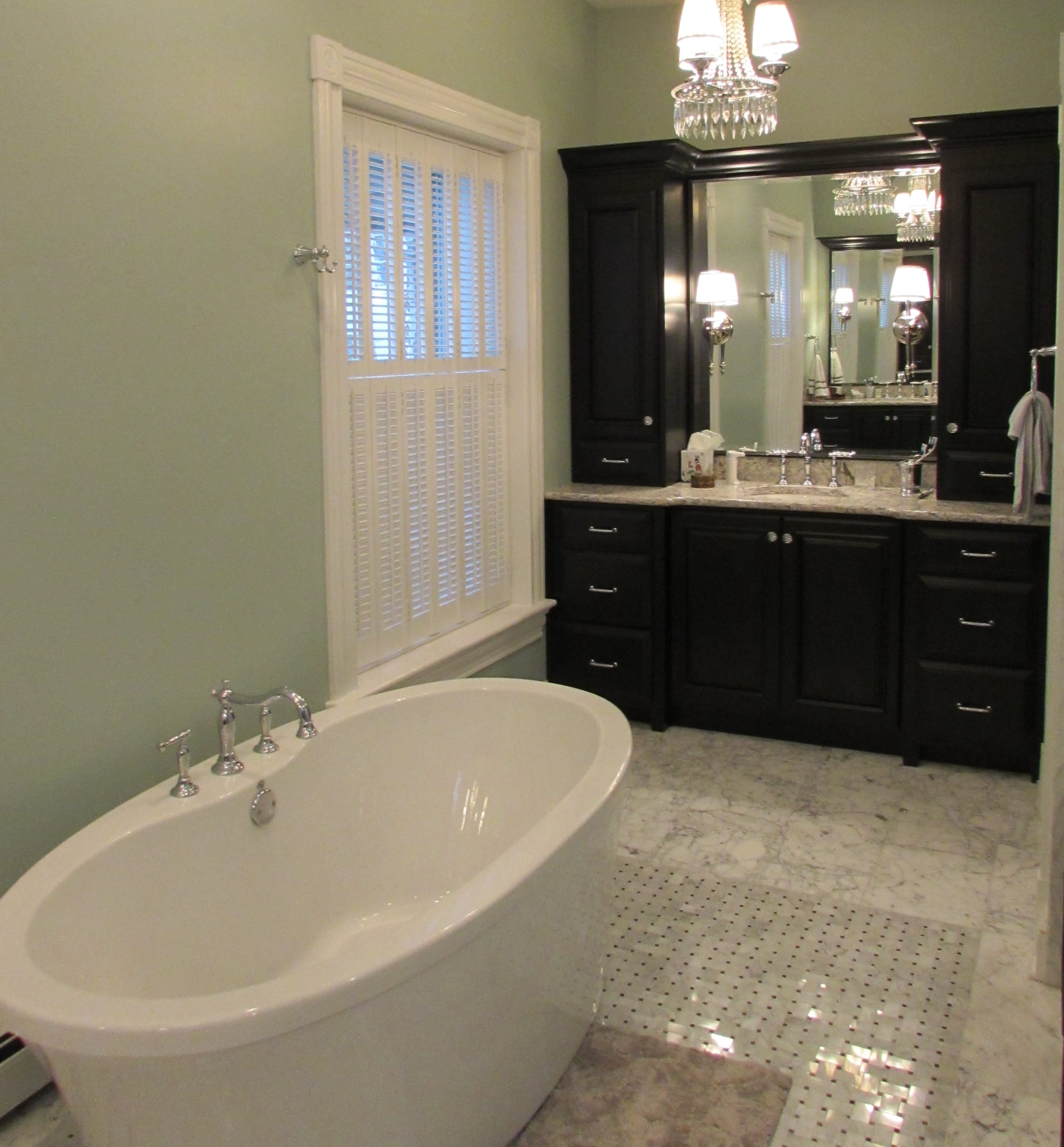 Downtown Frederick master bathroom remodel - Talon ...