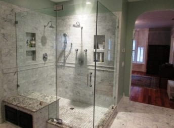Downtown Frederick master bathroom