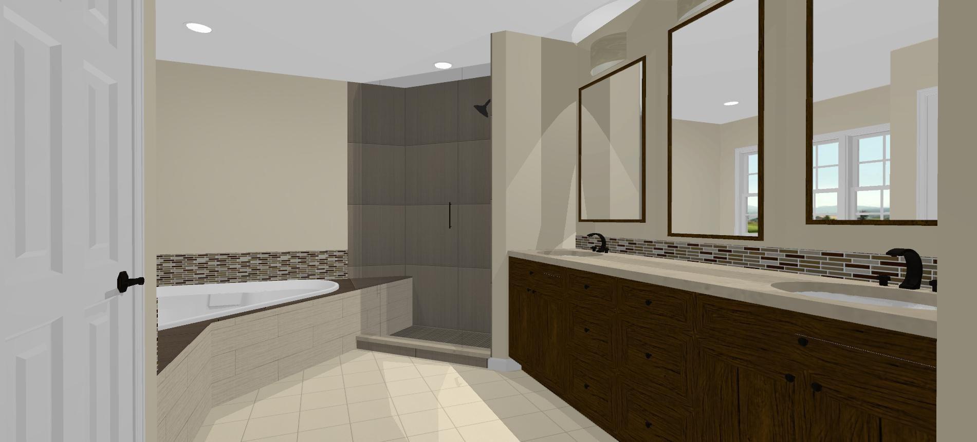 Design-build bathroom remodel in Frederick - Talon ...