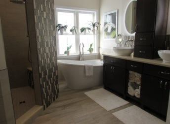 Master bathroom in Wormans Mill