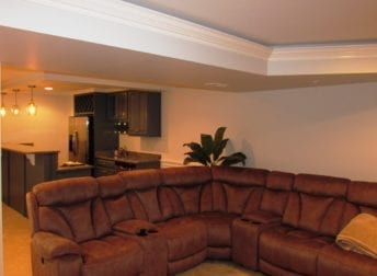 Urbana basement remodel