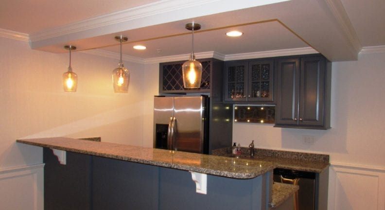 Another basement remodel in Urbana