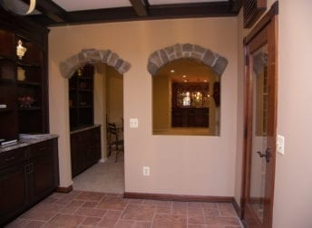 Darnestown unique basement remodel