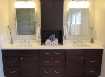 North Potomac master bathroom remodel