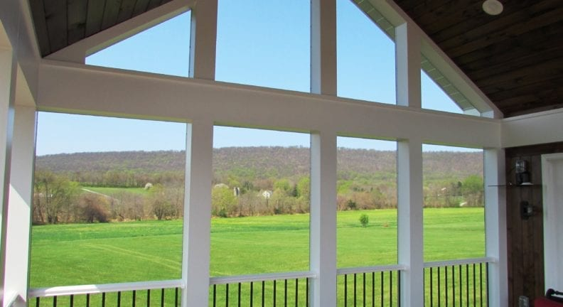 Middletown screened porch addition