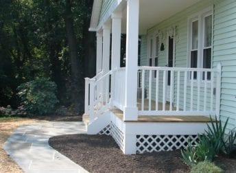 Jefferson front porch addition