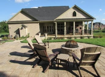 Outdoor living space addition