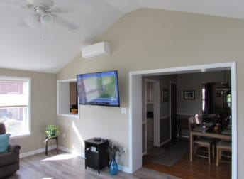 Lovely family room addition