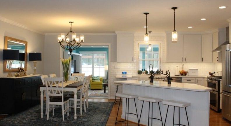 Rockville kitchen and sunroom remodel