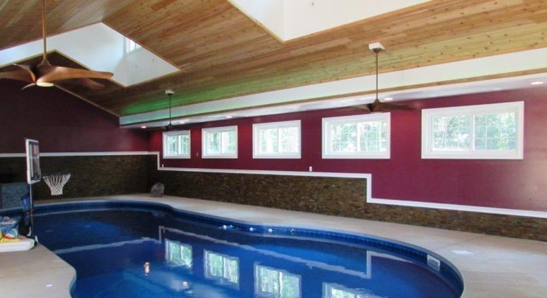 Pool house & garage addition