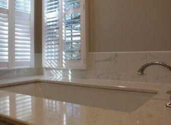 Stunning master bathroom remodel