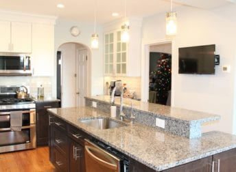 Who does home remodeling in Baker Park in Frederick like this kitchen addition project