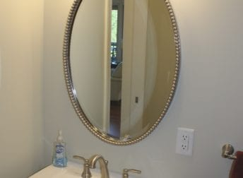 Powder room remodel in Mount Airy, MD